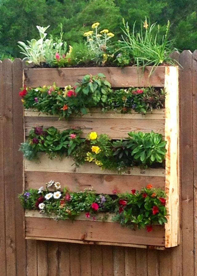 pallet-flower-box-planters