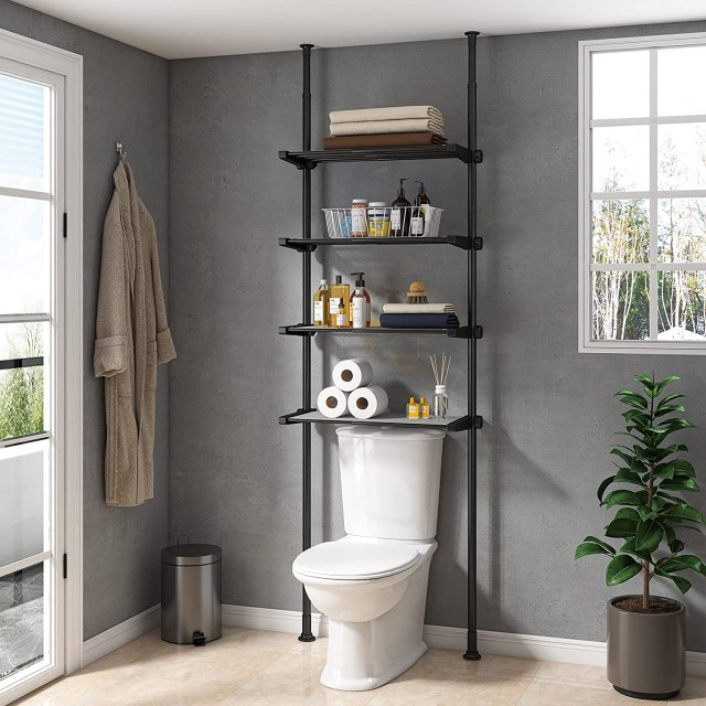 Over-the-Toilet Shelves