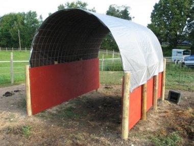 DIY Horse Shelter