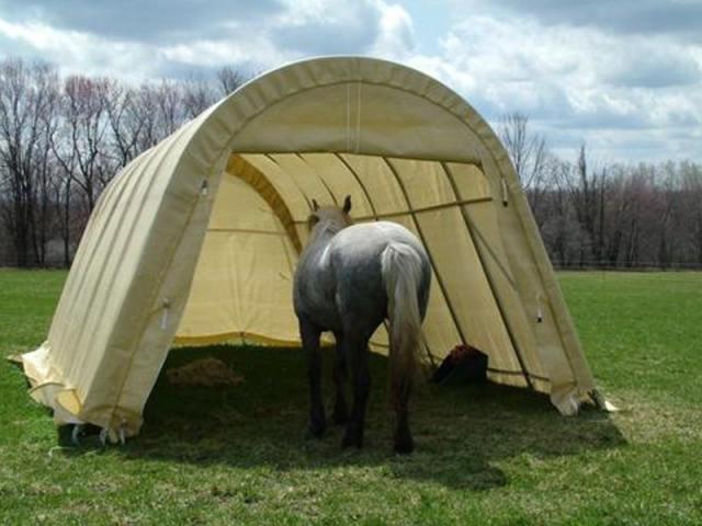 diy horse shelter plans