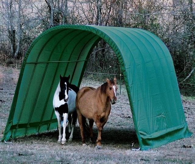 portable horse shelter