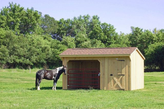 Cheap Horse Shelter 3 Sided
