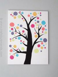 Cool Canvas Art Projects - DIYCraftsGuru