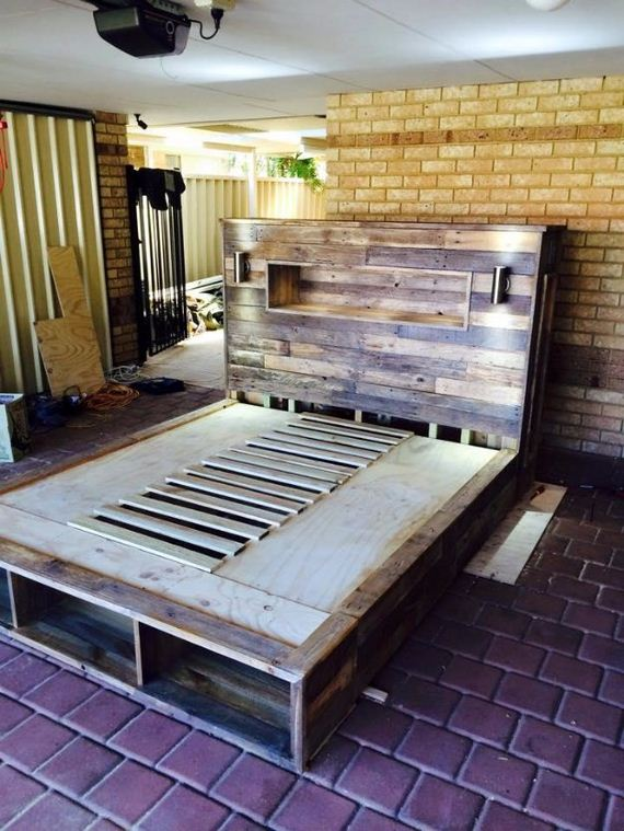 cup holder sofa bed sunroom sofas and chairs cool diy pallet furniture ideas - diycraftsguru
