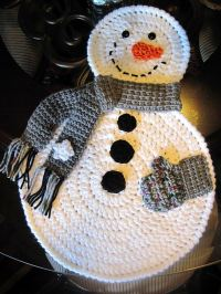 Stylish and Cool Crochet Placemats For Your Table ...