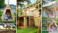 Amazing Backyard Playhouses For Your Kids - DIYCraftsGuru
