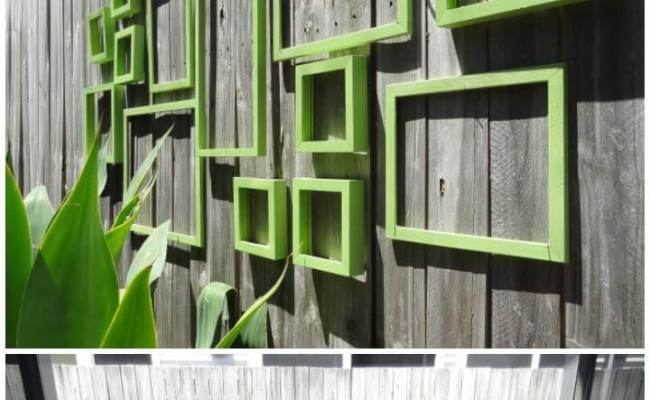 25 Diy Fence Decorating Ideas Projects Diy Crafts