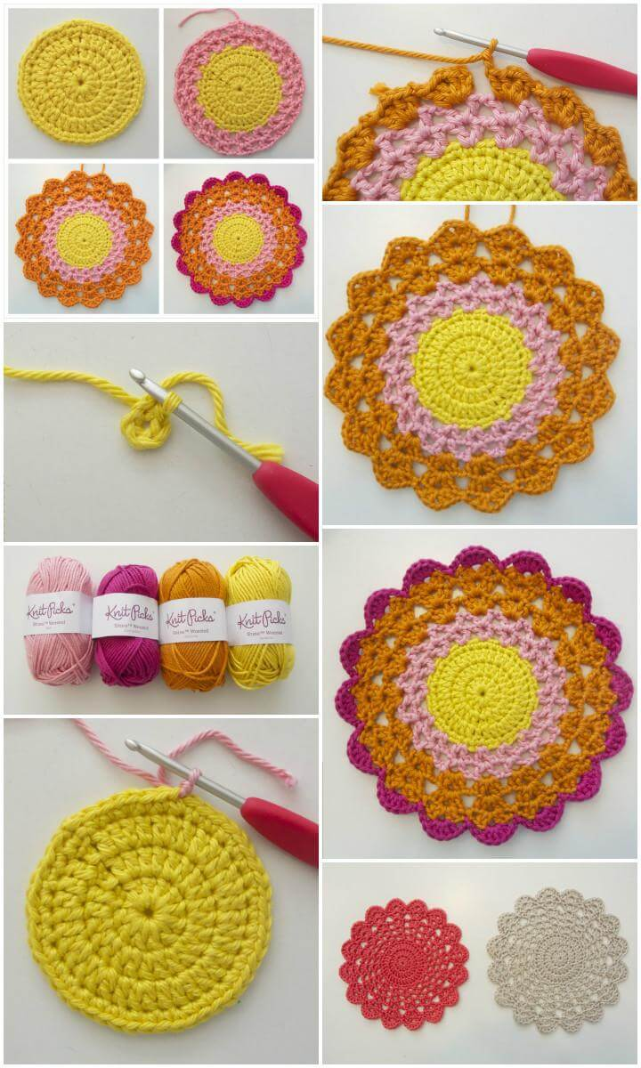 kids comfy chair cj tables and chairs 60+ free crochet mandala patterns - page 7 of 12 diy & crafts