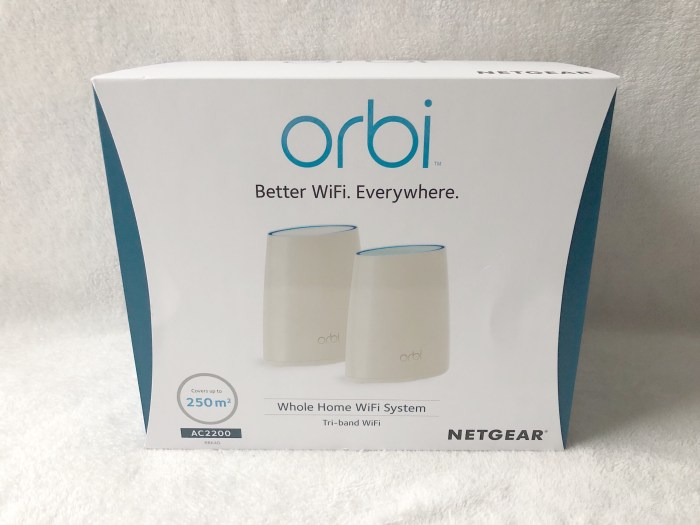 Netgear Orbi Better WiFi Around Your Home Review - DIY Daddy