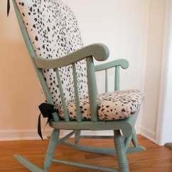 White Upholstered Rocking Chair Futon Sleeper Diy | Home Decor Mom