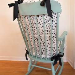 White Upholstered Rocking Chair Graco High Chairs Target Diy Home Decor Mom