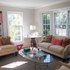 Arrange Large Furniture Small Living Room How To Design A Very Arrangement Useful Arranging Two Sofas With Abstract Painting And Glass Coffee Table In Showing