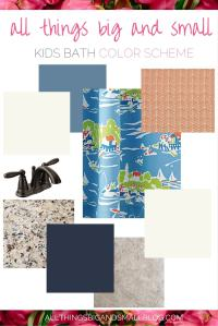 Nautical Bathroom Color Scheme: One Room Challenge - DIY ...