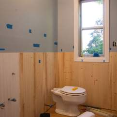Beadboard Chair Rail Hammock Stand Plans Bathroom How To Diy That Looks Professional 5 For The Trim You Can Keep It As Simple Or Make Complex Like Depending On Your Taste We Opted A Three Piece And