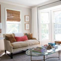 Diy Small Living Room Design Trending Colors 2018 Furniture Arrangement Useful Arranging In A Sofa With Bench Front Of Bay Windows