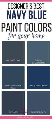 Best Navy Paint Colors: Designers Share 6 Failproof Paint