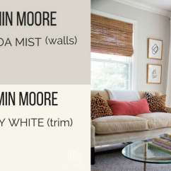 Paint Colors For Living Rooms With White Trim Best Room Pictures Benjamin Moore Balboa Mist Reviews See How It Compares Bm And Simply Walls