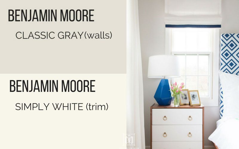 paint colors for living rooms with white trim gray room brown leather furniture benjamin moore classic how to choose the best neutral grays bedroom and simply