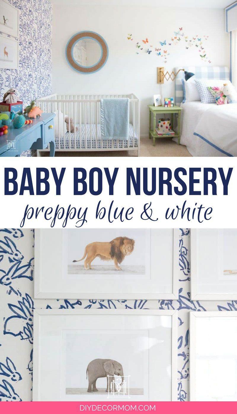 Baby Boy Room Decor Adorable BudgetFriendly Boy Nursery