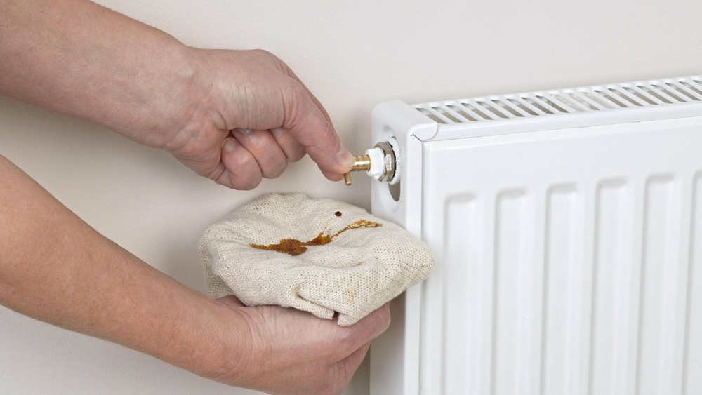 Bleeding a Radiator in Your Central Heating System  How