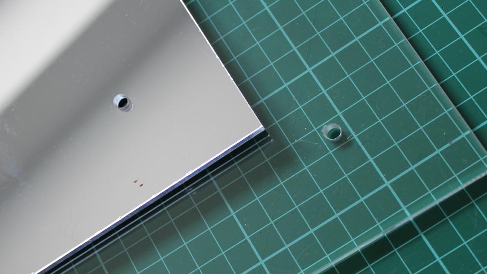 Drilling Plexiglass Sheets