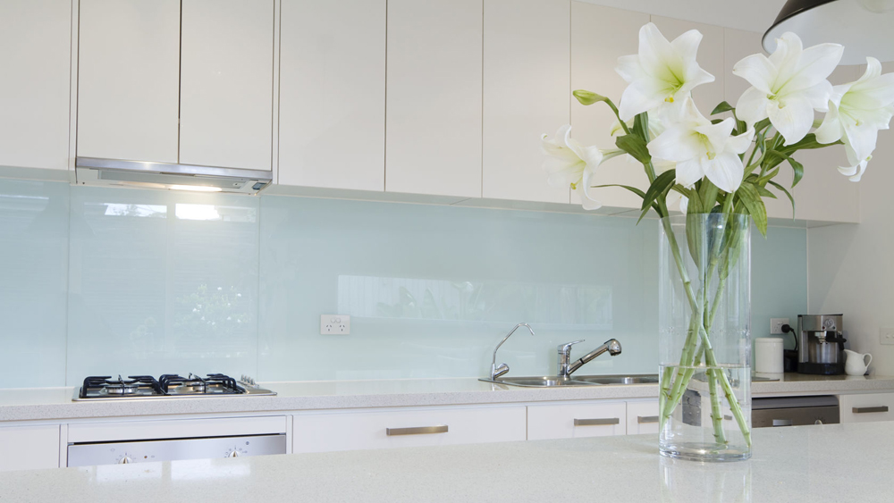 kitchen planning tool gold faucet fitting glass splashbacks | information and help on how to ...