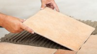 How to Lay Floor Tiles in Kitchens and Bathrooms on to ...