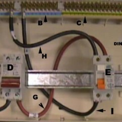 Wiring A Garage Consumer Unit Diagram 96 Civic Alarm Installing | Instructions On To Uk Specifications Diy ...