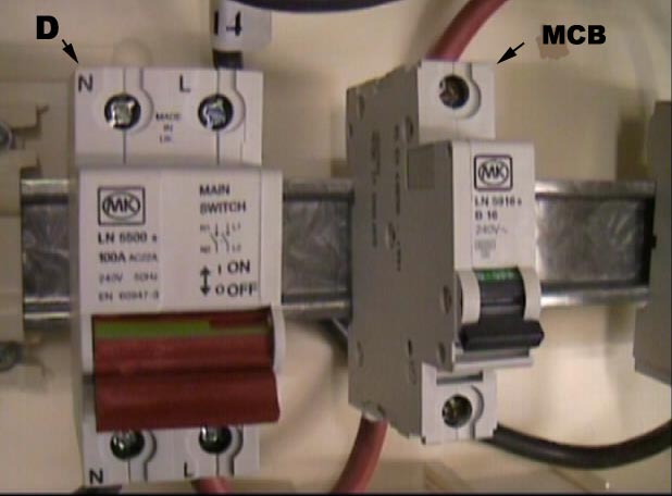 Double Pole Isolating Switch Wiring