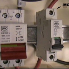 Wylex Split Load Consumer Unit Wiring Diagram Ge Center Installing A Instructions On With Mcb And Main Double Pole Isolation Switch