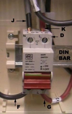 2 Pole Isolator Switch Wiring Diagram  Somurich