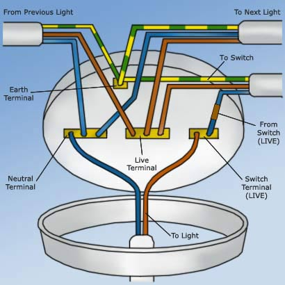 wiring diagram for ceiling light and switch 36 volt golf cart battery charger a rose diy doctor