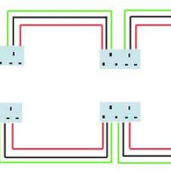 Lighting Circuit Wiring Diagram Multiple Lights Uk Chocolate Pt Phase A Ring Main | Electrical Circuits Mains ...