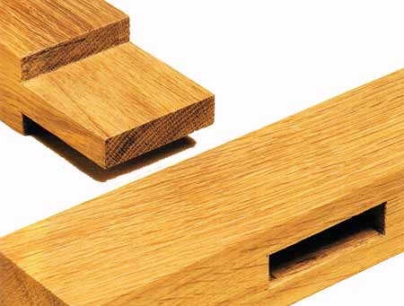 Keyed Mortise And Tenon Joint