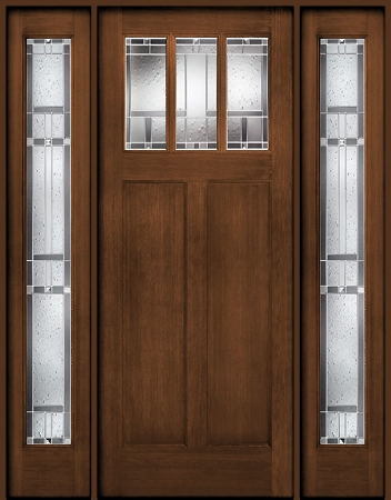 ThermaTru Classic Craft American Door and Two Sidelites