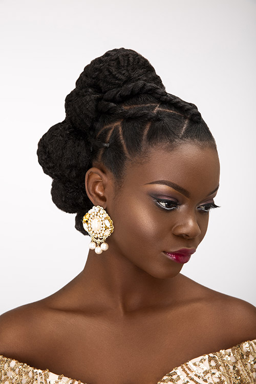 Bridal Updos For Natural Hair Diyfashionhub