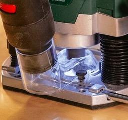 Bosch POF 1400 vacuum attachment