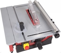 Image of the table saw, the Lumberjack BTS210