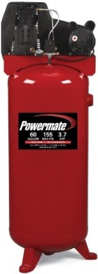 Powermate PLA3706056 stationary air compressor