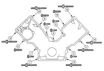 Ford 5 4 Valve Cover Parts Diagram. Ford. Auto Parts