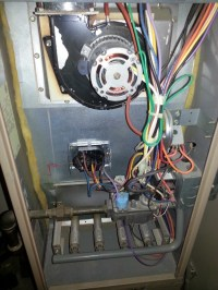 Short Cycling Furnace. Flame Sensor Reads 4 A.