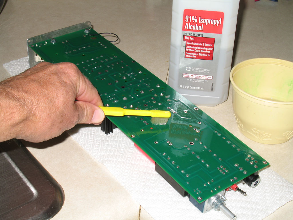 How To Clean Electronic Circuit Boards With Solvents