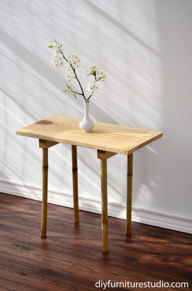 bamboo legs revisited: two new looks – diy furniture studio