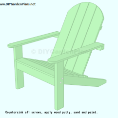 Diy Adirondack Chair Plans Mesh Task Easy To Follow For An