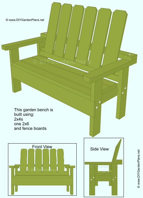 free garden bench guide