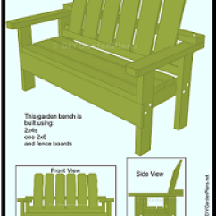 Plans Adirondack Chairs Free Memory Foam Chair Cushion For Recliner Garden Bench Guide: Simple To Build