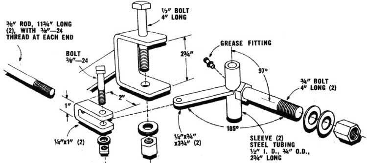 Woodwork Steering Mechanism Go Kart PDF Plans
