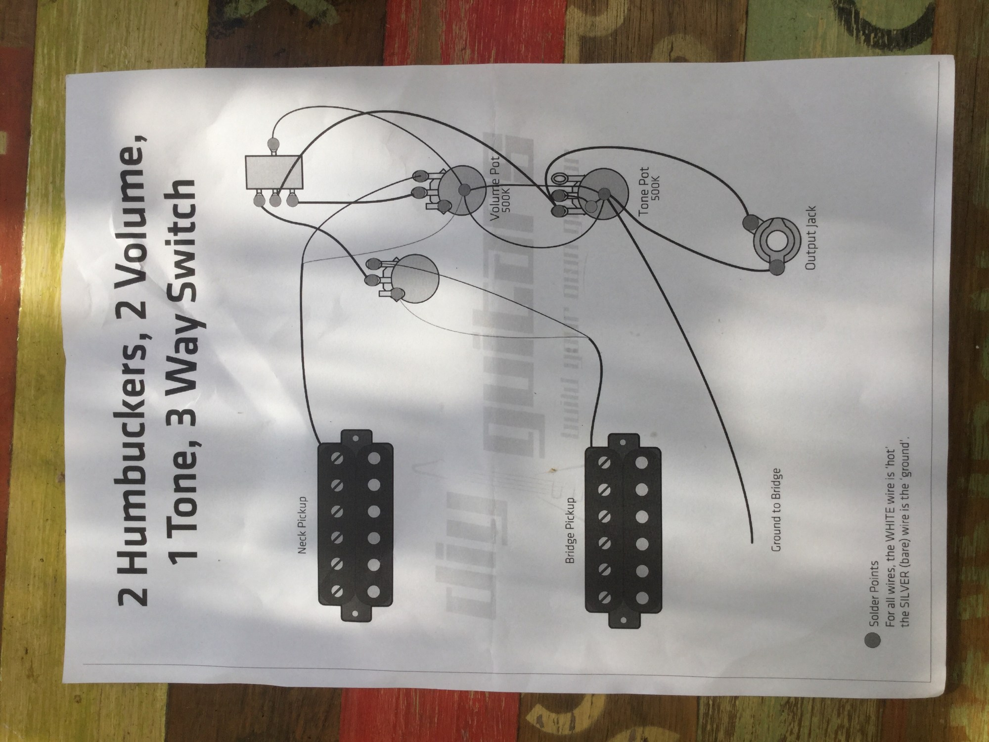 hight resolution of wiring diagram for flying v diy guitars image jpg