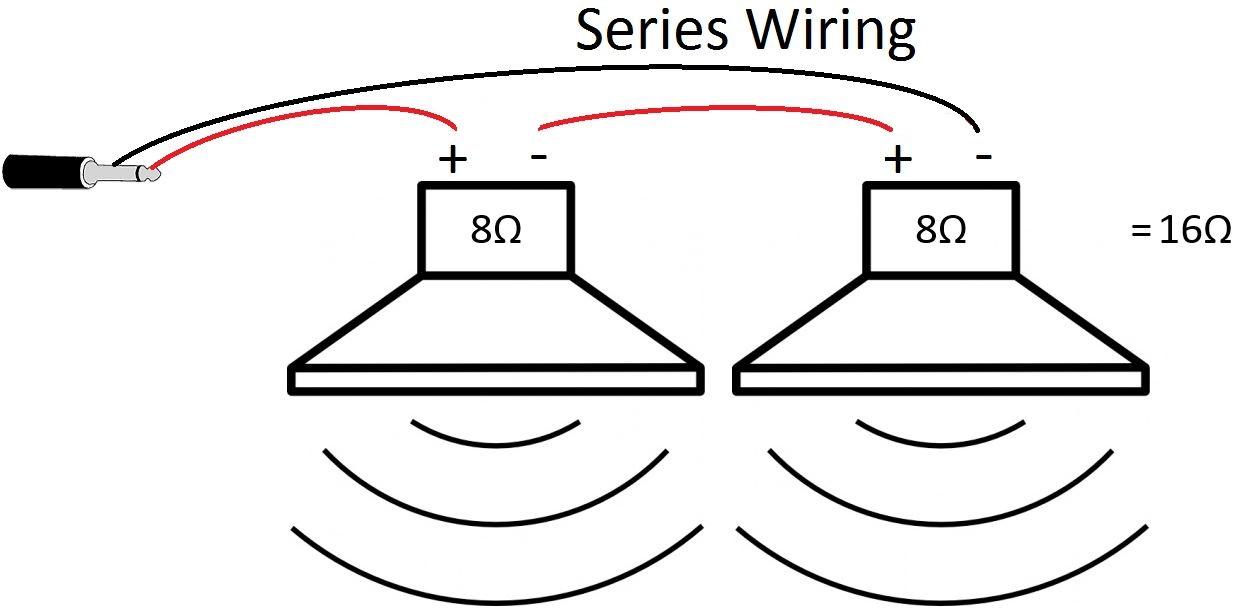 wiring speakers in parallel diagram universal ignition diy speaker vs. series | guitar tone