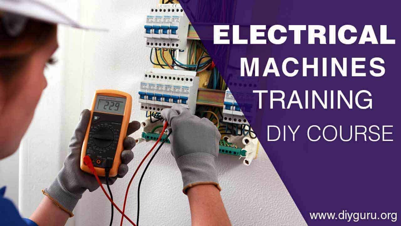 hight resolution of diy electrical machines training